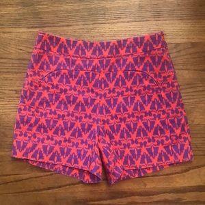 Anthropologie Cartonnier Shorts (size 6)
